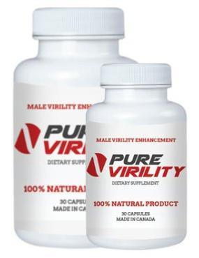 PURE VIRILITY Virility Pills with L-Arginine