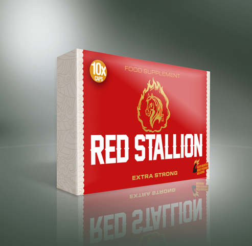 RED STALLION Maca + L-Arginina