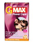 G-MAX POWER CAPS for women - libido pills for women - libido enhancer for women